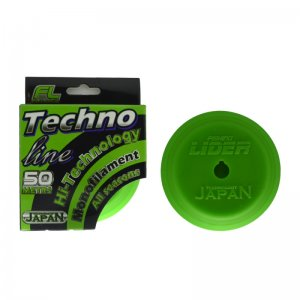 Леска FISHINGLIDER Techno Line 0 14мм 3 30кг 50м