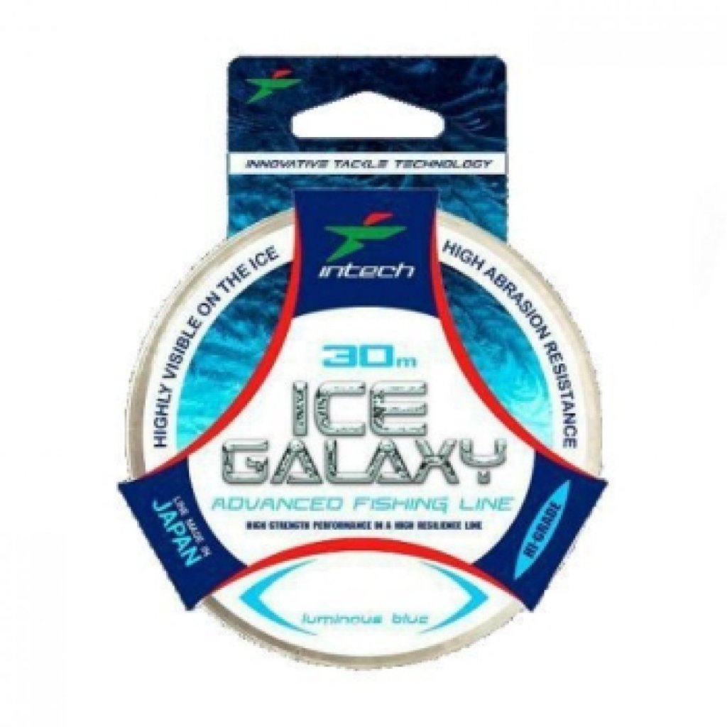 Леска Intech Ice Galaxy 0 120mm 1 11kg 50m голубая